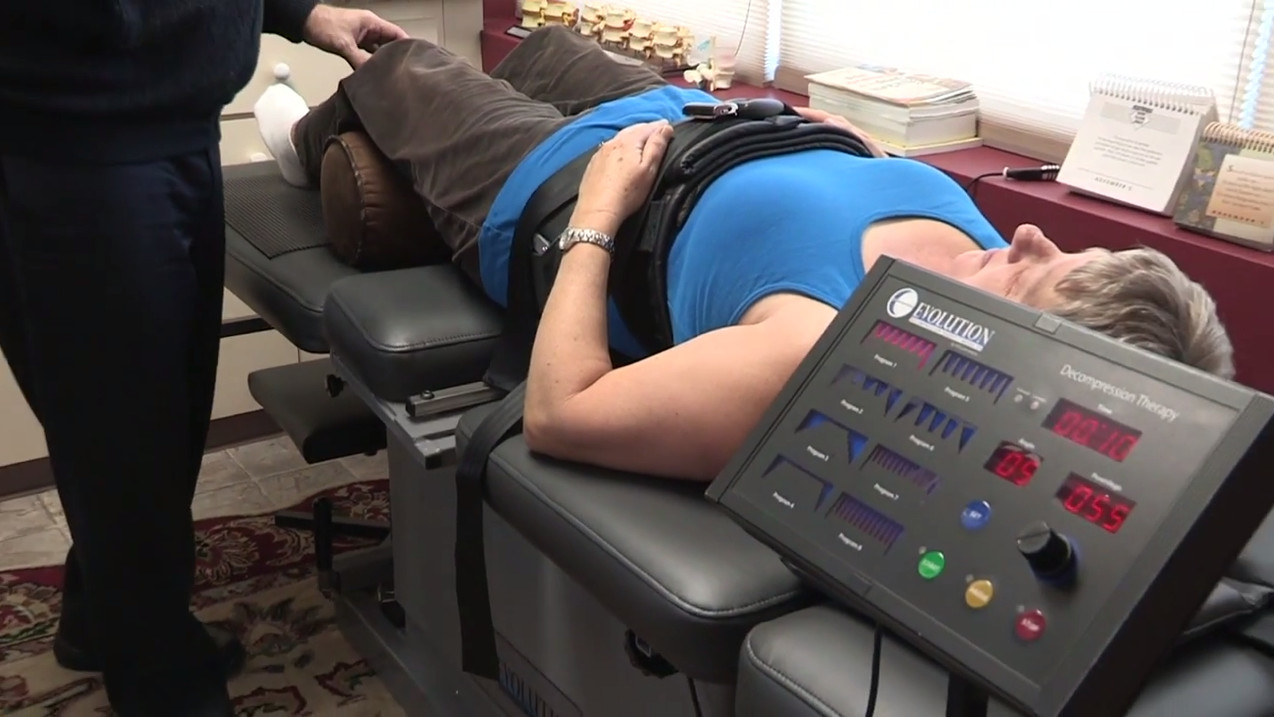 Spinal Decompression - Lacombe Chiropractor
